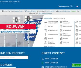 http://www.123machineverhuur.nl