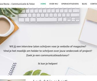 Alinea Recta-Communicatie en Tekst