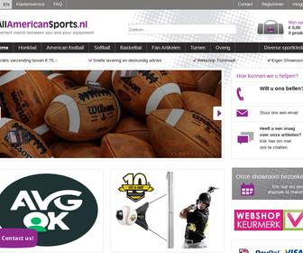 http://www.allamericansports.nl