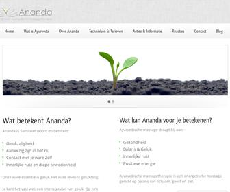 Ananda Massagetherapie Arnhem