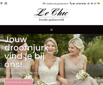Le Chic Bruids-Galawereld Outlet