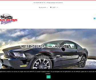 http://www.carshop-exclusive.nl