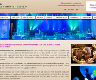 Evenementenbureau De Ceremoniemeester
