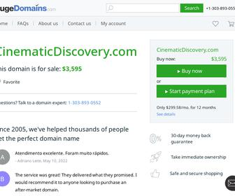http://www.cinematicdiscovery.com