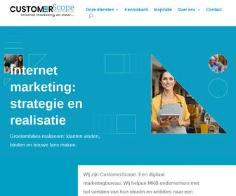http://www.customerscope.nl