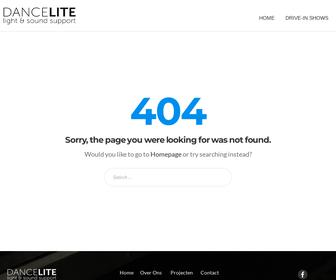 Dancelite Light & Sound Support