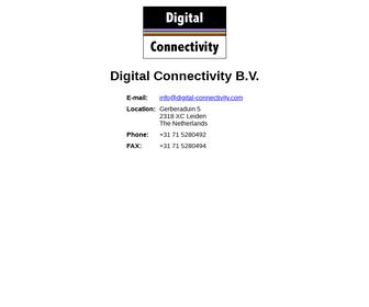 Digital Connectivity B.V.