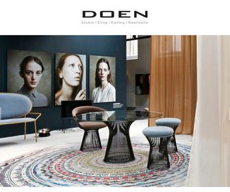 DOEN, Concept, Interior, Management, Shop