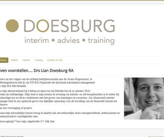 DOESBURG interim-advies- training