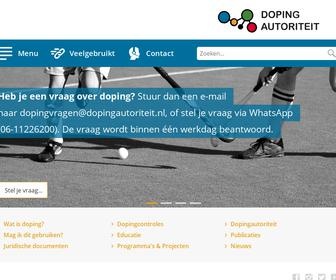 Sticht. Anti Doping Autoriteit Nederland