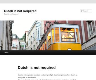 http://www.dutchisnotrequired.nl