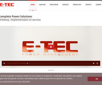 E-TEC Power Management B.V.
