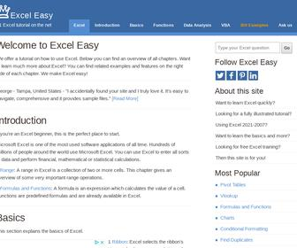Excel Easy