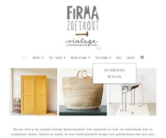 Firma Zoethout