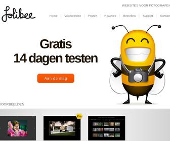 Folibee Websites voor Fotografen