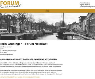 Forum Not. mr. D.B.H. van der Laan