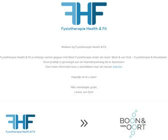 Fysiotherapie Health & Fit
