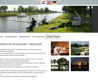 Camperplaats 'Haamstede'