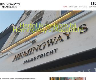 Hemingway's Maastricht, Menswear for the Big & Tall