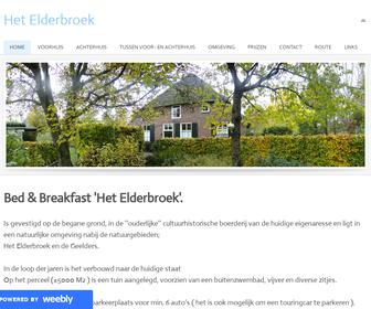 Bed & Breakfast Het Elderbroek