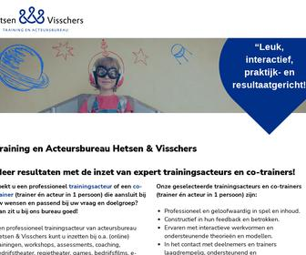 Hetsen & Visschers, Training- & Acteursbureau