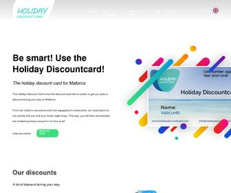 Holiday Discountcard