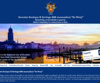 Boutique Bed & Breakfast Huize 'De Worp' Deventer