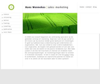 Hans Wennekes Interim Sales & Marketing