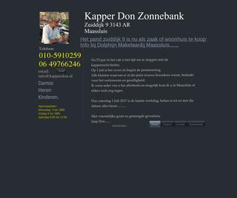 Kapper Don Sauna Zonnebank