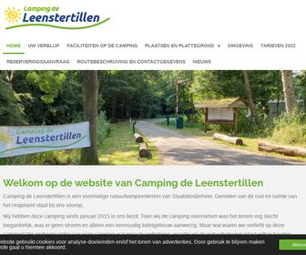 Camping de Leenstertillen