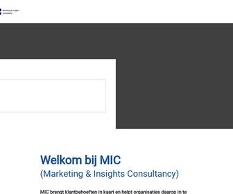 MIC (Marketing & Insights Consultancy)