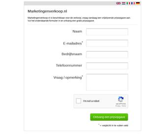 http://www.marketingenverkoop.nl