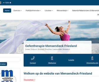 Oefentherapie Mensendieck Friesland