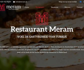 Restaurant meram amsterdam west b v in amsterdam for Meram amsterdam west
