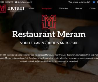 Restaurant meram amsterdam west b v in amsterdam for Meram restaurant amsterdam