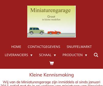 http://www.miniaturengarage.nl