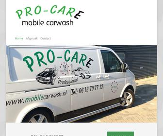 Pro Care Mobile Car Wash