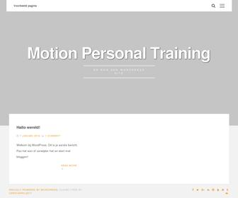 Motion Personal Training