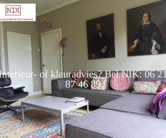 website nik nicoline interieur kleuradvies