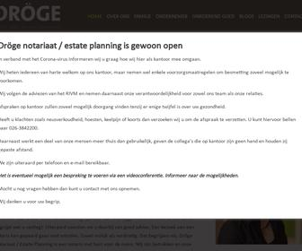 Dröge Notariaat-Estate planning