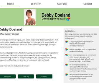 Debby Doeland, Office Support op maat!