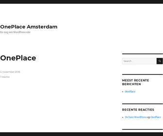 http://www.oneplace.amsterdam