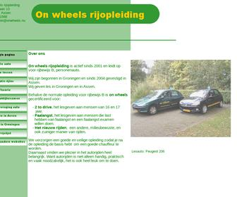 On Wheels Rijopleiding