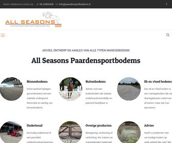 ALL SEASONS paardensportbodems