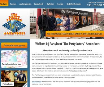 Partyboot 'The Partyfactory Amersfoort'