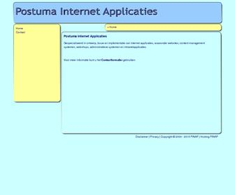 Postuma Internet Applicaties