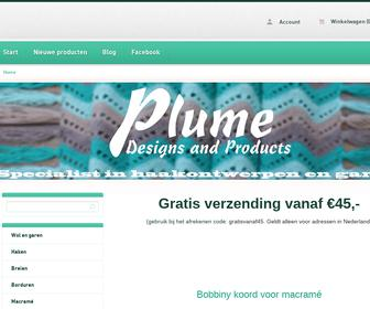 Plume designs and products