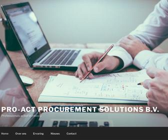 Pro-Act Procurement Solutions B.V.
