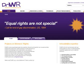 PoWR projects on women's rights