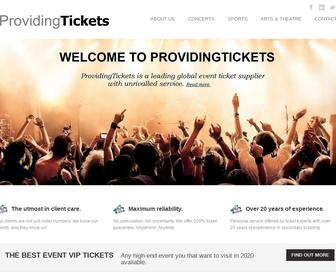ProvidingTickets